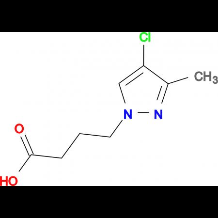 4-(4-chloro-3-methyl-1H-pyrazol-1-yl)butanoic acid