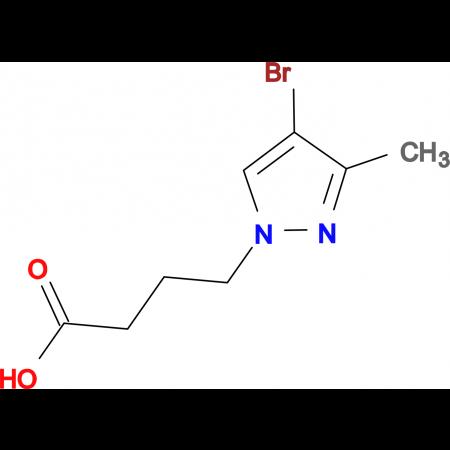 4-(4-bromo-3-methyl-1H-pyrazol-1-yl)butanoic acid