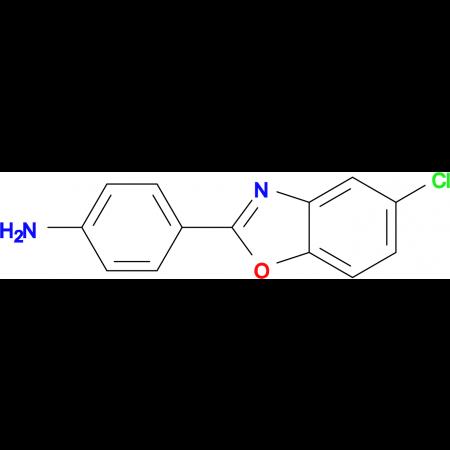 4-(5-chloro-1,3-benzoxazol-2-yl)aniline