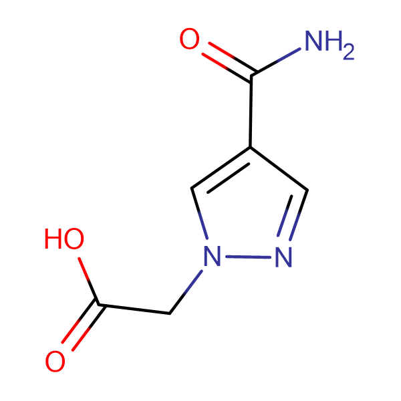 [4-(aminocarbonyl)-1H-pyrazol-1-yl]acetic acid