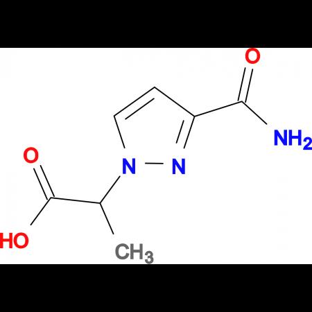2-[3-(aminocarbonyl)-1H-pyrazol-1-yl]propanoic acid