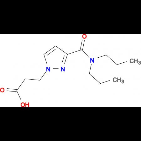 3-{3-[(dipropylamino)carbonyl]-1H-pyrazol-1-yl}propanoic acid