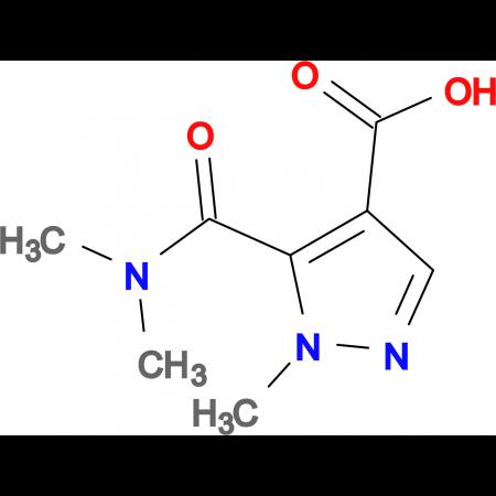5-[(dimethylamino)carbonyl]-1-methyl-1H-pyrazole-4-carboxylic acid