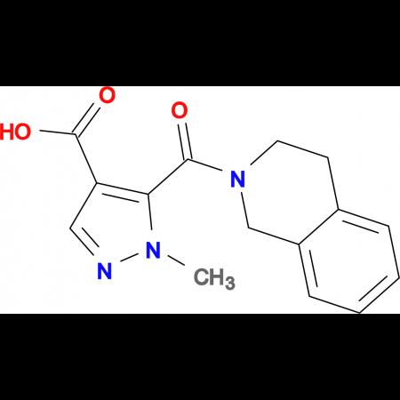 5-(3,4-dihydroisoquinolin-2(1H)-ylcarbonyl)-1-methyl-1H-pyrazole-4-carboxylic acid