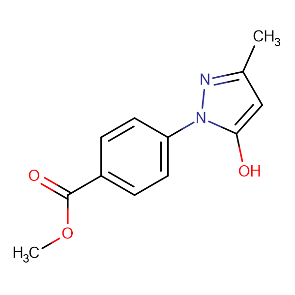 methyl 4-(5-hydroxy-3-methyl-1H-pyrazol-1-yl)benzoate