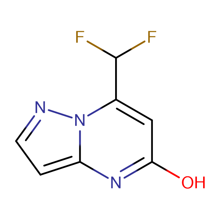 7-(difluoromethyl)pyrazolo[1,5-a]pyrimidin-5-ol