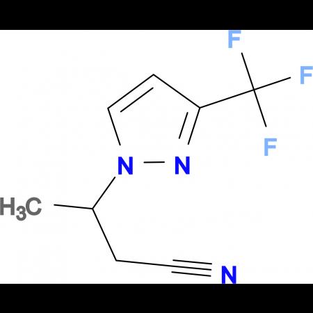 3-[3-(trifluoromethyl)-1H-pyrazol-1-yl]butanenitrile