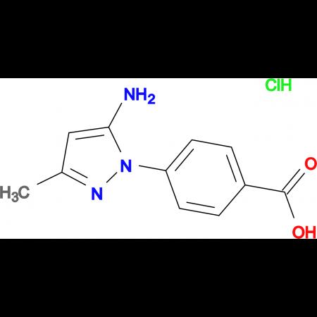4-(5-amino-3-methyl-1H-pyrazol-1-yl)benzoic acid