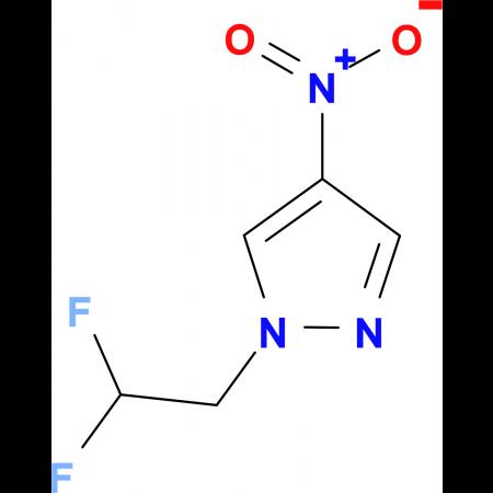 1-(2,2-difluoroethyl)-4-nitro-1H-pyrazole