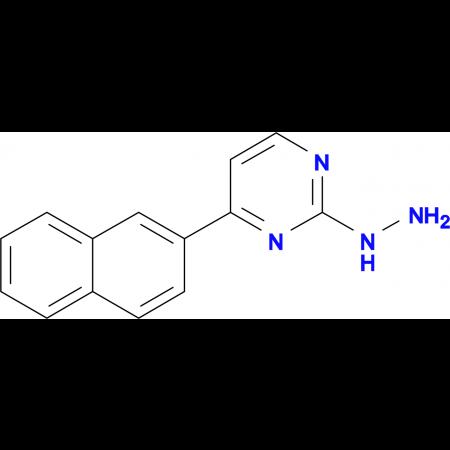 2-hydrazino-4-(2-naphthyl)pyrimidine