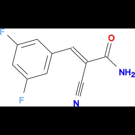 (2E)-2-cyano-3-(3,5-difluorophenyl)acrylamide