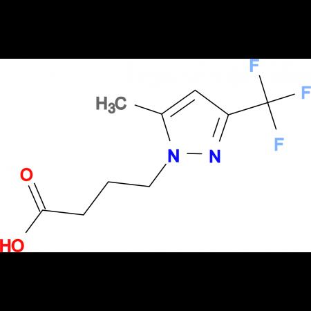 4-[5-methyl-3-(trifluoromethyl)-1H-pyrazol-1-yl]butanoic acid