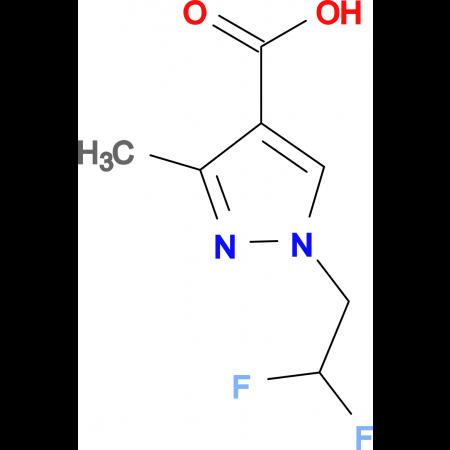 1-(2,2-difluoroethyl)-3-methyl-1H-pyrazole-4-carboxylic acid
