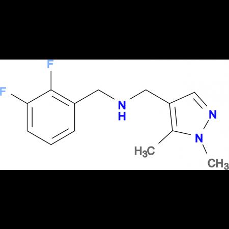 N-(2,3-difluorobenzyl)-N-[(1,5-dimethyl-1H-pyrazol-4-yl)methyl]amine