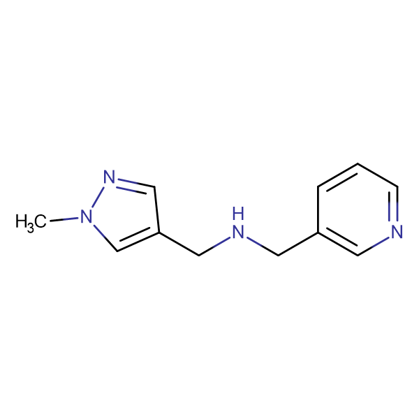 N-[(1-methyl-1H-pyrazol-4-yl)methyl]-N-(pyridin-3-ylmethyl)amine