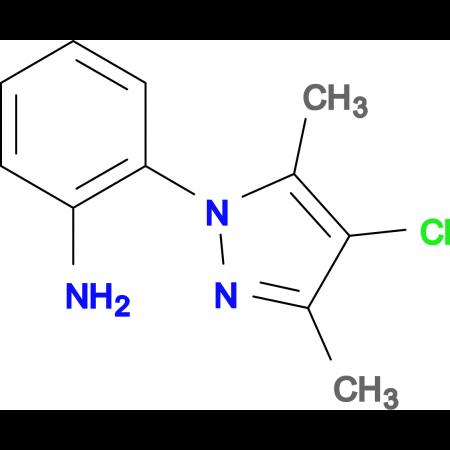 2-(4-chloro-3,5-dimethyl-1H-pyrazol-1-yl)aniline
