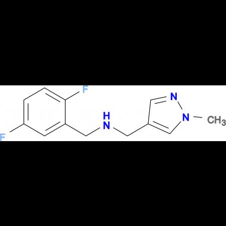 N-(2,5-difluorobenzyl)-N-[(1-methyl-1H-pyrazol-4-yl)methyl]amine