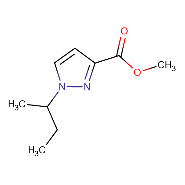 methyl 1-sec-butyl-1H-pyrazole-3-carboxylate