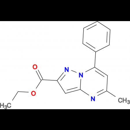 ethyl 5-methyl-7-phenylpyrazolo[1,5-a]pyrimidine-2-carboxylate