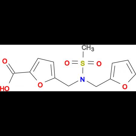 5-{[(2-furylmethyl)(methylsulfonyl)amino]methyl}-2-furoic acid