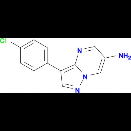 3-(4-chlorophenyl)pyrazolo[1,5-a]pyrimidin-6-amine
