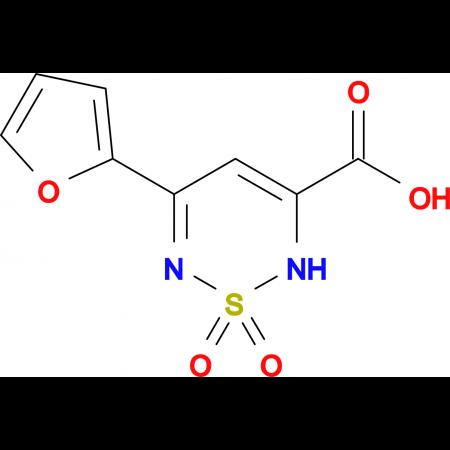 5-(2-furyl)-2H-1,2,6-thiadiazine-3-carboxylic acid 1,1-dioxide