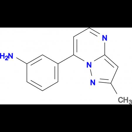 3-(2-methylpyrazolo[1,5-a]pyrimidin-7-yl)aniline