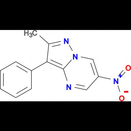 2-methyl-6-nitro-3-phenylpyrazolo[1,5-a]pyrimidine