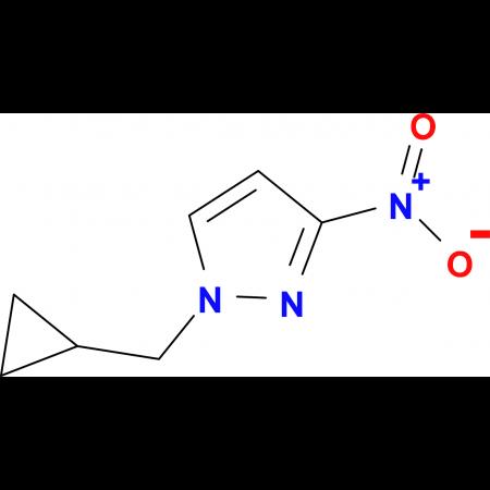1-(cyclopropylmethyl)-3-nitro-1H-pyrazole