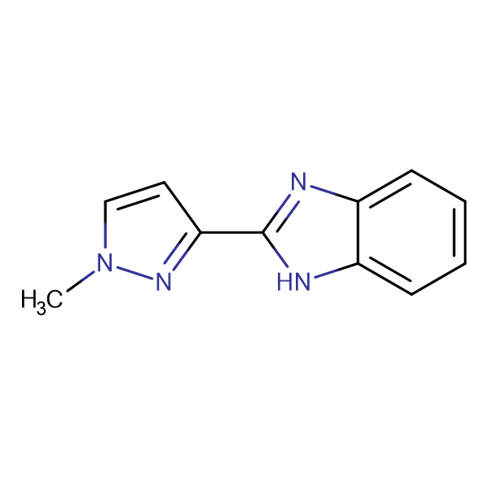 2-(1-methyl-1H-pyrazol-3-yl)-1H-benzimidazole