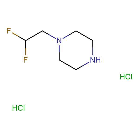 1-(2,2-difluoroethyl)piperazine