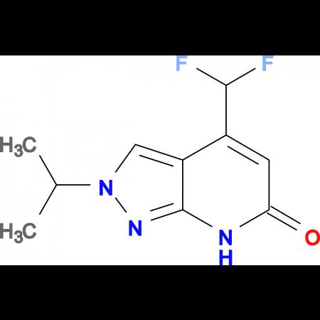 4-(difluoromethyl)-2-isopropyl-2,7-dihydro-6H-pyrazolo[3,4-b]pyridin-6-one