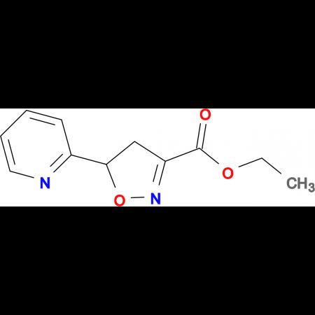 ethyl 5-pyridin-2-yl-4,5-dihydroisoxazole-3-carboxylate