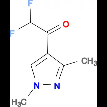 1-(1,3-dimethyl-1H-pyrazol-4-yl)-2,2-difluoroethanone
