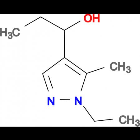 1-(1-ethyl-5-methyl-1H-pyrazol-4-yl)propan-1-ol