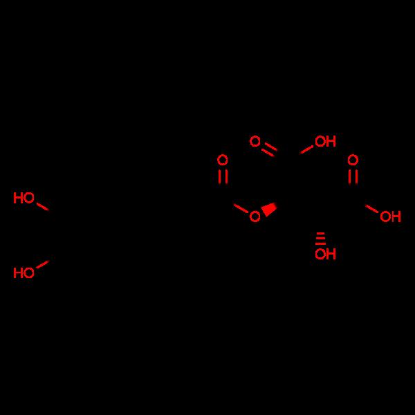 (2R,3R)-2-(((E)-3-(3,4-Dihydroxyphenyl)acryloyl)oxy)-3-hydroxysuccinic acid