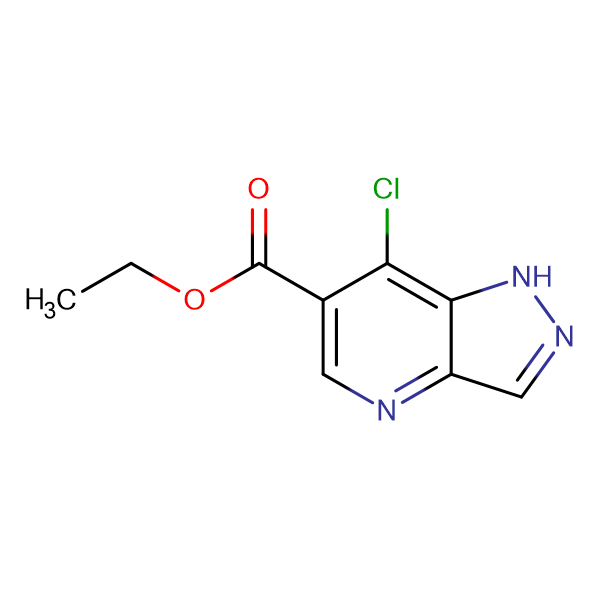 Ethyl 7-chloro-1H-pyrazolo[4,3-b]pyridine-6-carboxylate