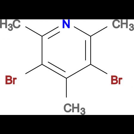 3,5-Dibromo-2,4,6-trimethylpyridine