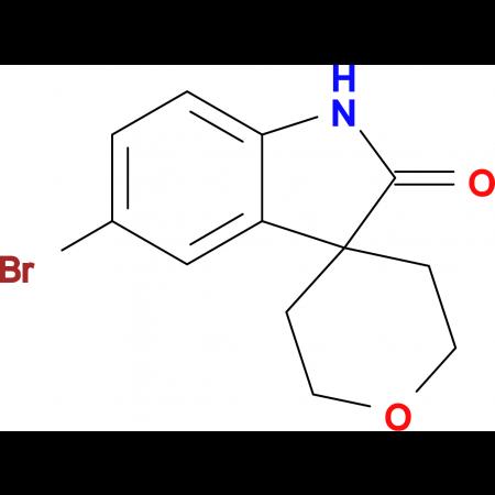 5-Bromo-2',3',5',6'-tetrahydrospiro[3H-indole-3,4'-[4H]pyran]-2(1H)-one