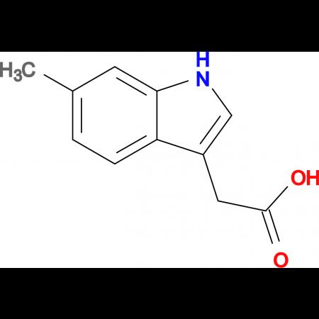2-(6-Methyl-1H-indol-3-yl)acetic acid