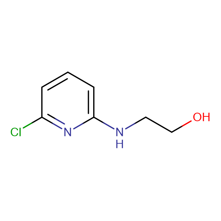 2-((6-Chloropyridin-2-yl)amino)ethanol