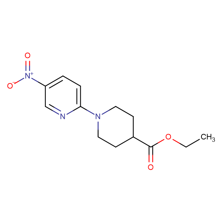 Ethyl 1-(5-nitropyridin-2-yl)piperidine-4-carboxylate