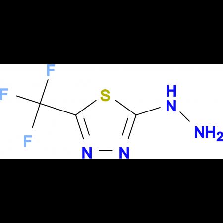2-Hydrazinyl-5-(trifluoromethyl)-1,3,4-thiadiazole