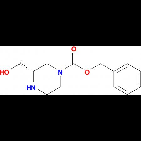 (S)-Benzyl 3-(hydroxymethyl)piperazine-1-carboxylate