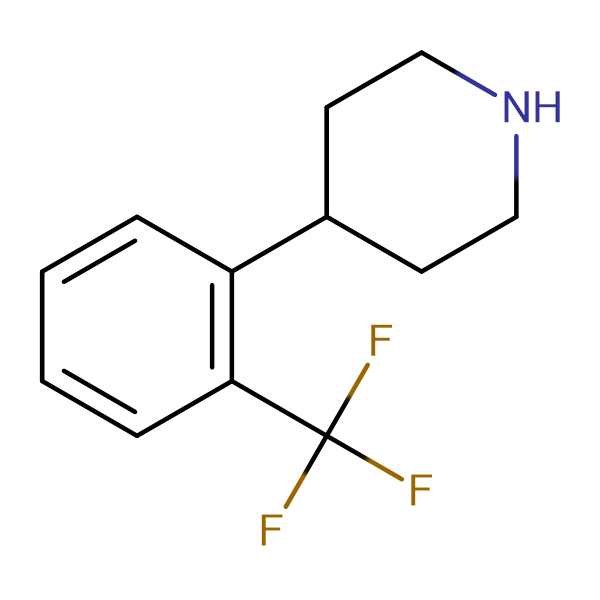 4-(2-(Trifluoromethyl)phenyl)piperidine