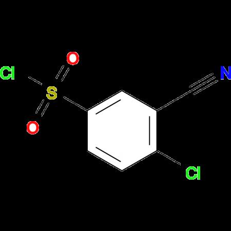4-Chloro-3-cyanobenzene-1-sulfonyl chloride
