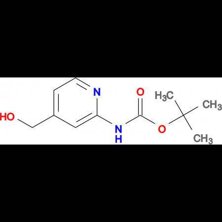 tert-Butyl (4-(hydroxymethyl)pyridin-2-yl)carbamate