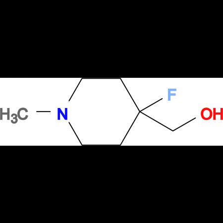 (4-Fluoro-1-methylpiperidin-4-yl)methanol