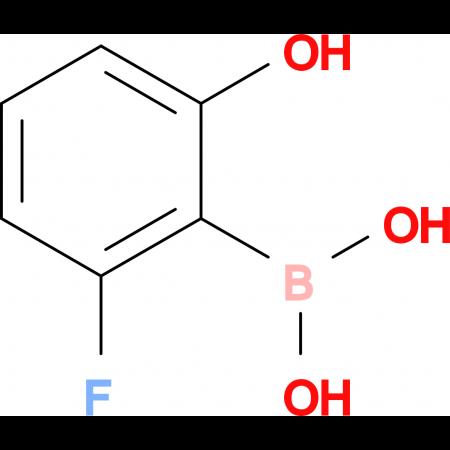 (2-Fluoro-6-hydroxyphenyl)boronic acid