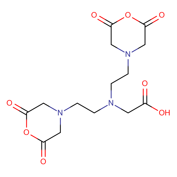 2-(Bis(2-(2,6-dioxomorpholino)ethyl)amino)acetic acid